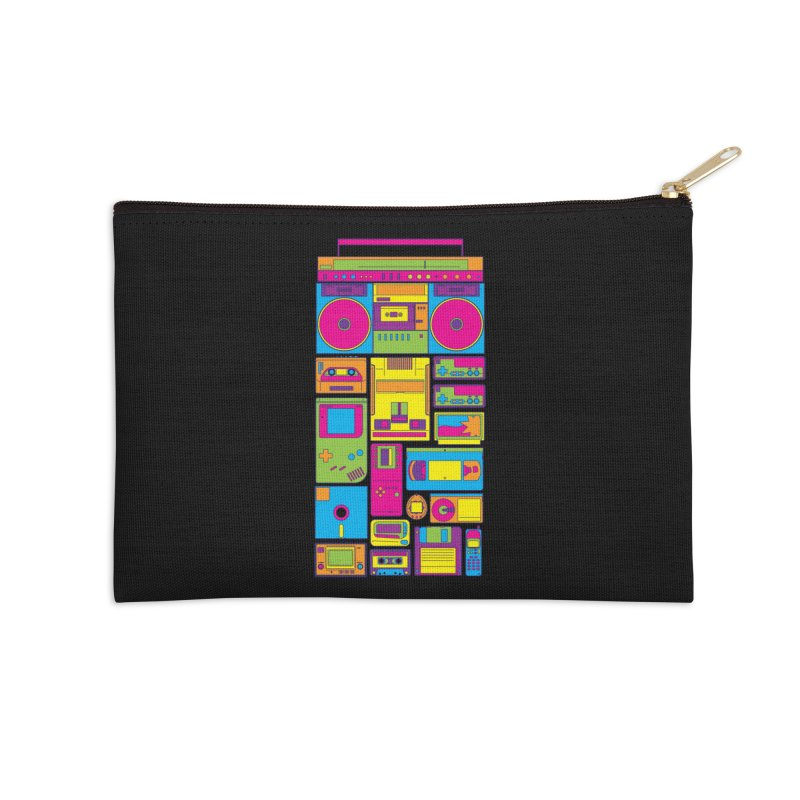Nostalgic Gadgets Accessories Zip Pouch by sknny