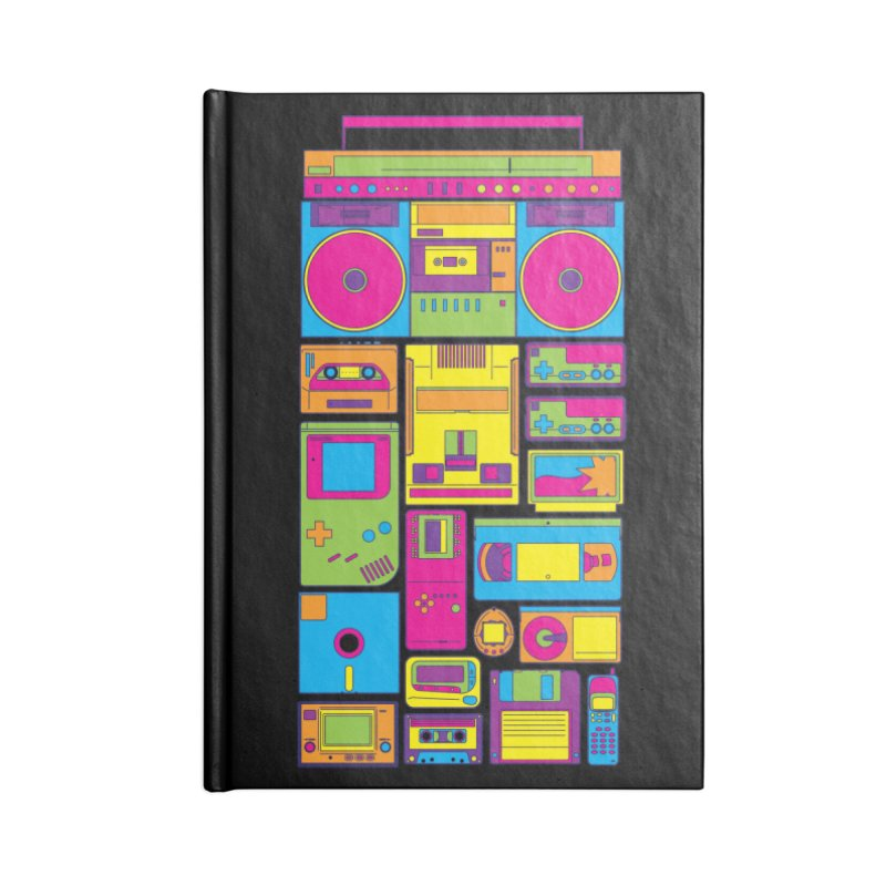 Nostalgic Gadgets Accessories Notebook by sknny