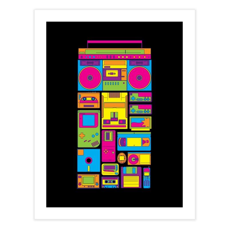 Nostalgic Gadgets Home Fine Art Print by sknny