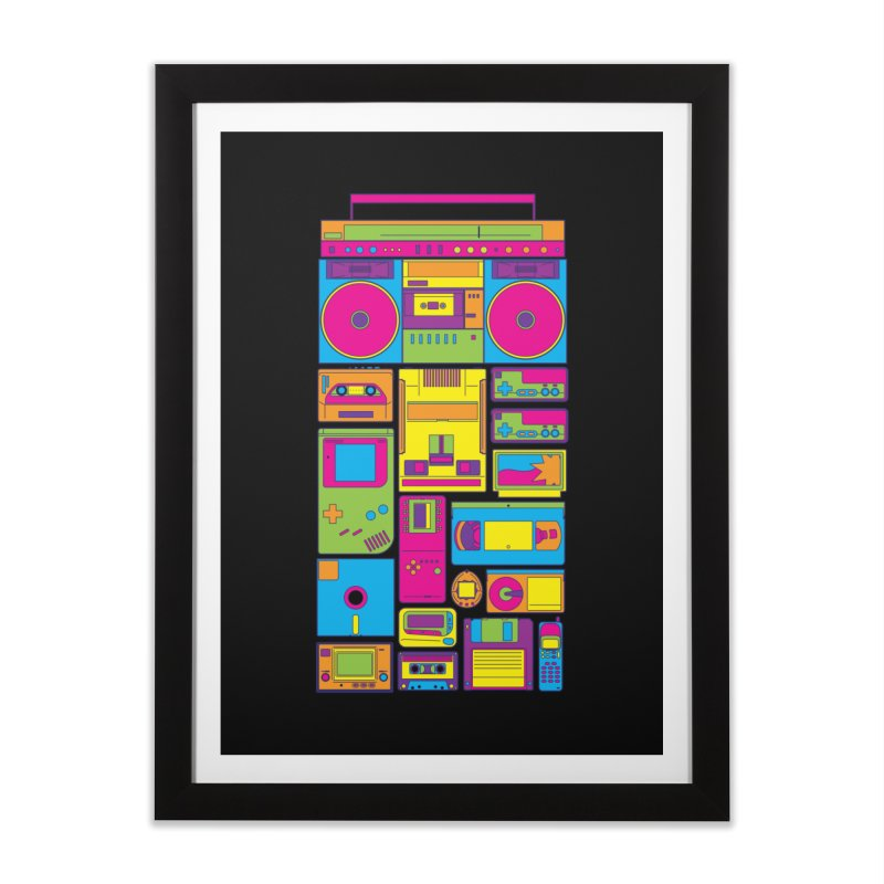 Nostalgic Gadgets Home Framed Fine Art Print by sknny