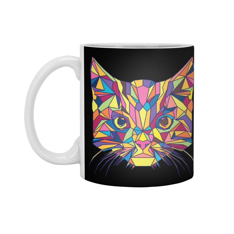 Fragile Kitten Accessories Mug by sknny
