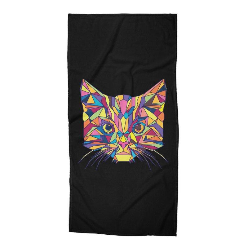 Fragile Kitten Accessories Beach Towel by sknny
