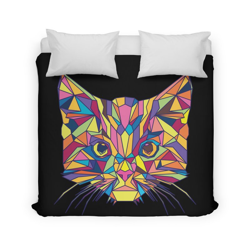 Fragile Kitten Home Duvet by sknny
