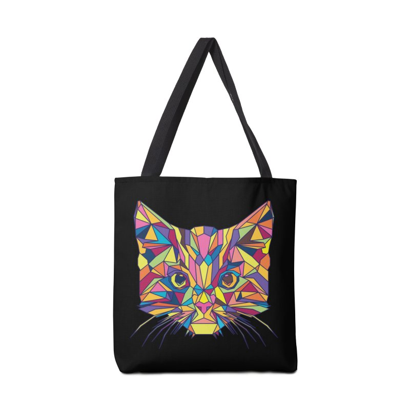 Fragile Kitten Accessories Bag by sknny