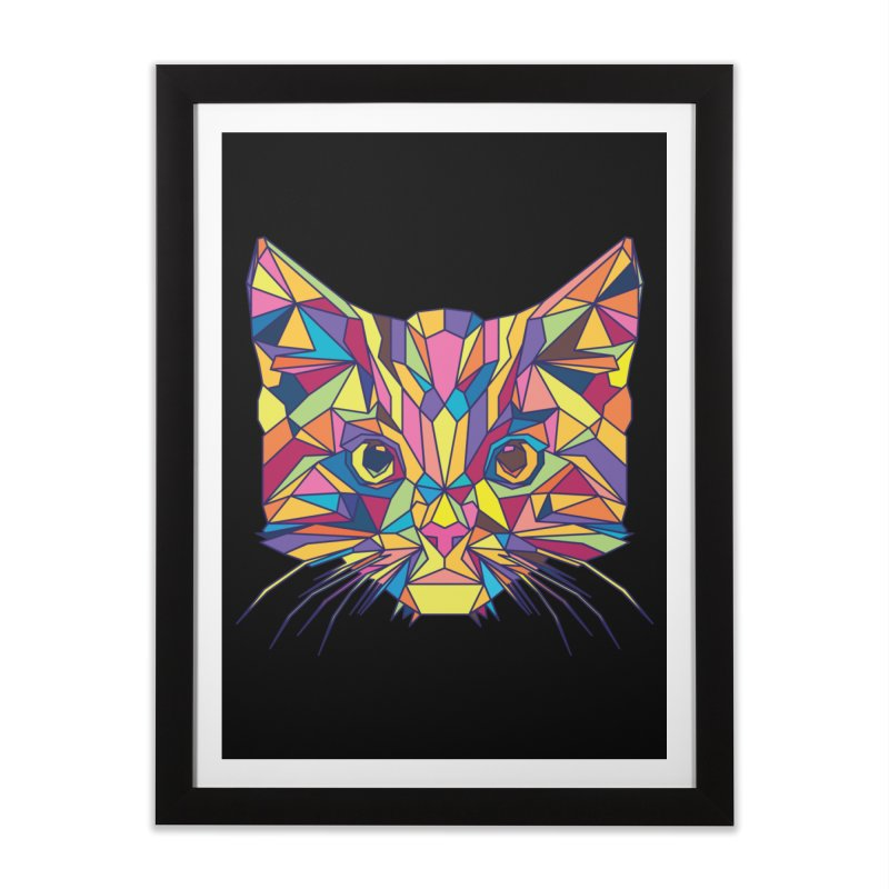 Fragile Kitten Home Framed Fine Art Print by sknny