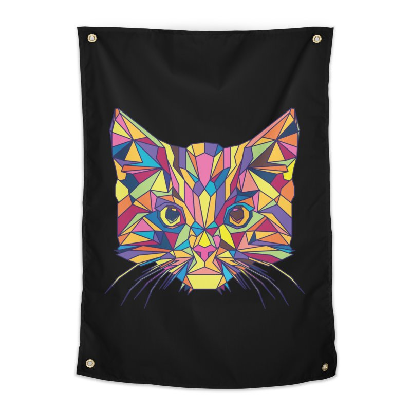Fragile Kitten Home Tapestry by sknny