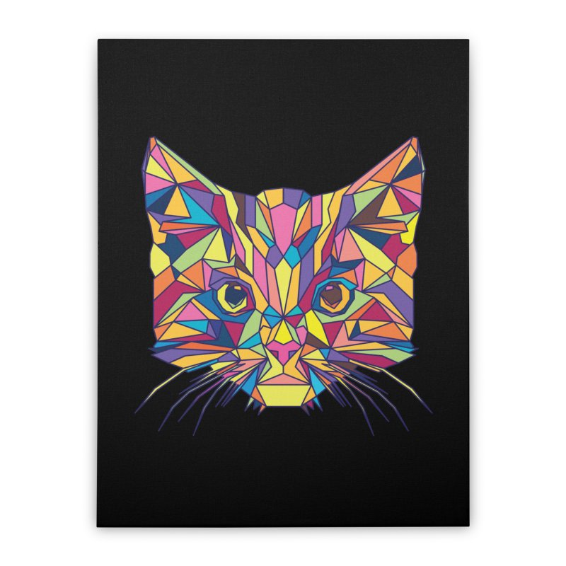 Fragile Kitten Home Stretched Canvas by sknny