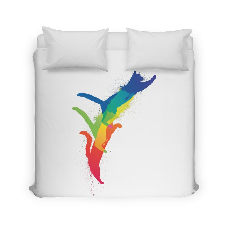 Jump Home Duvet by sknny