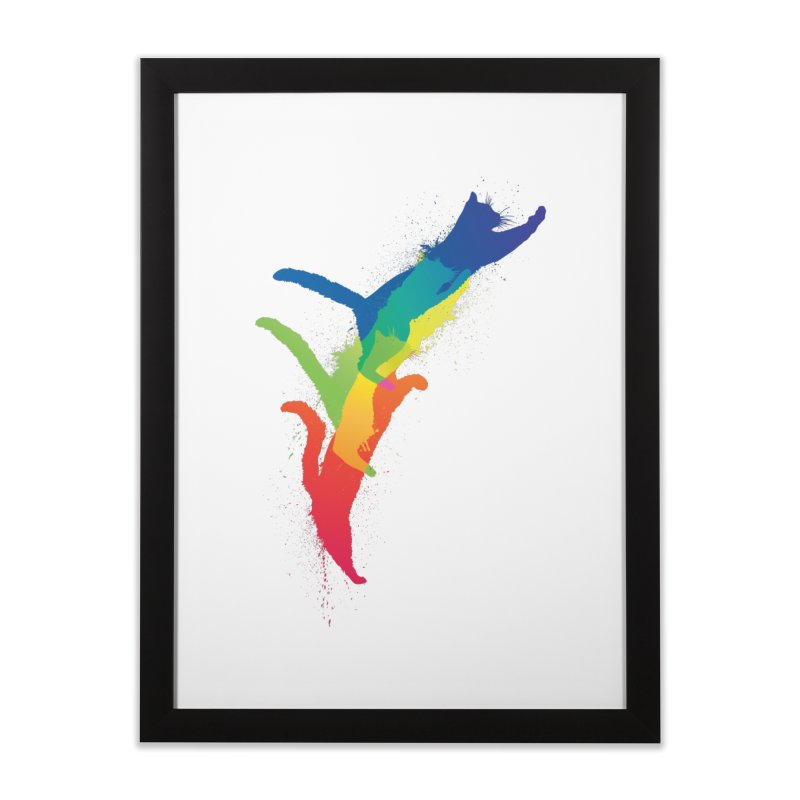Jump Home Framed Fine Art Print by sknny