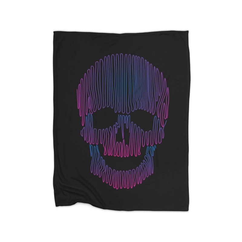 Skullidellic Home Blanket by sknny
