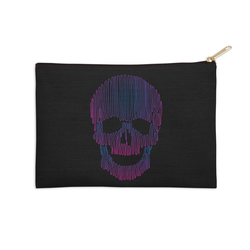 Skullidellic Accessories Zip Pouch by sknny