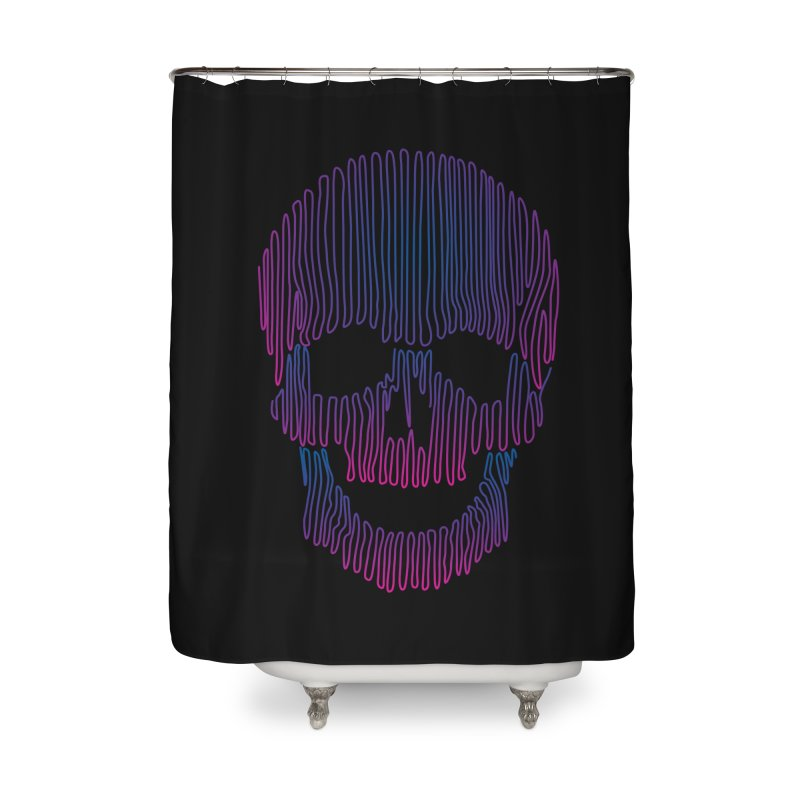 Skullidellic Home Shower Curtain by sknny