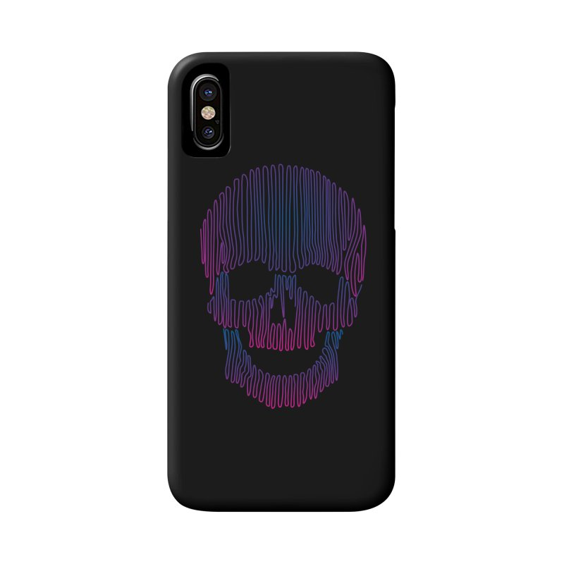 Skullidellic Accessories Phone Case by sknny