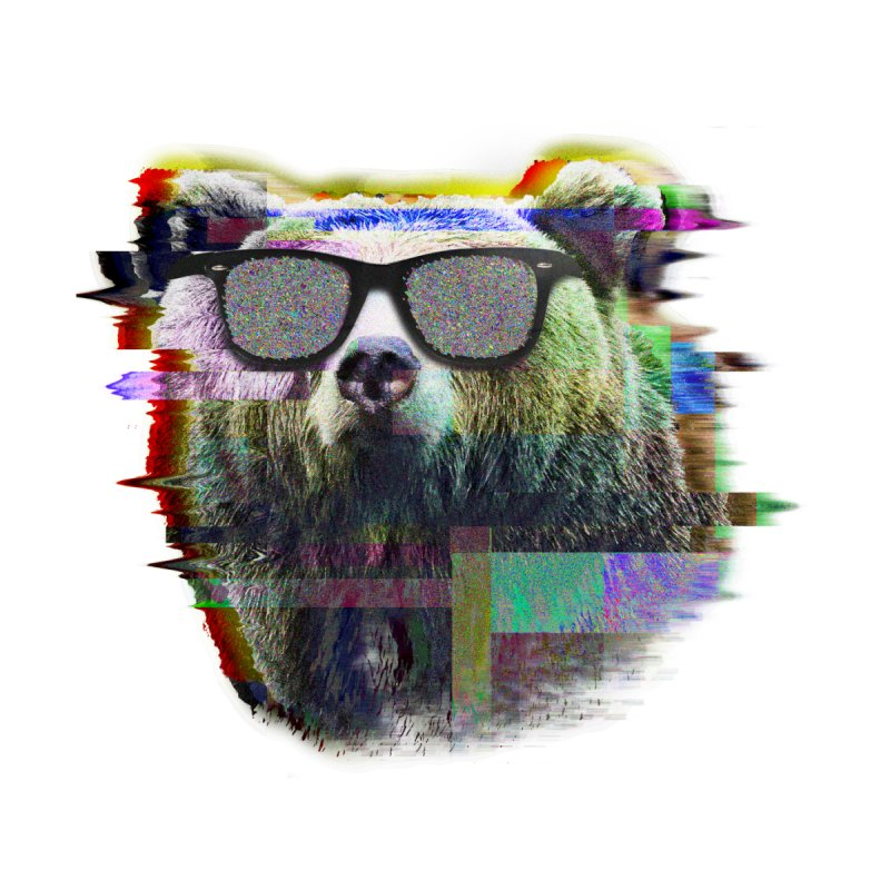 Bear Summer Glitch   by sknny