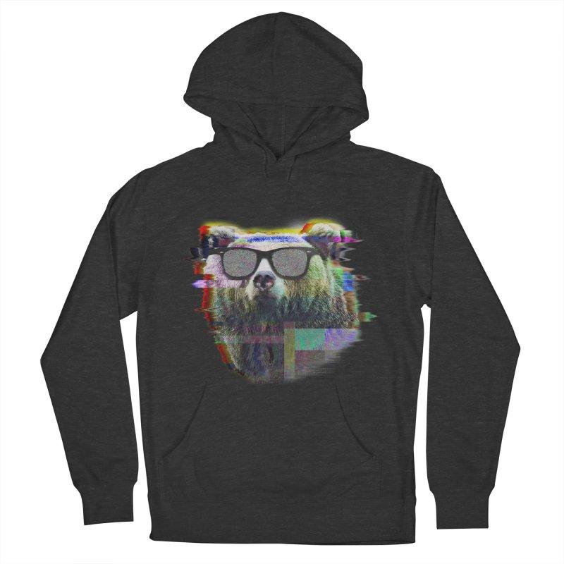 Bear Summer Glitch Women's Pullover Hoody by sknny