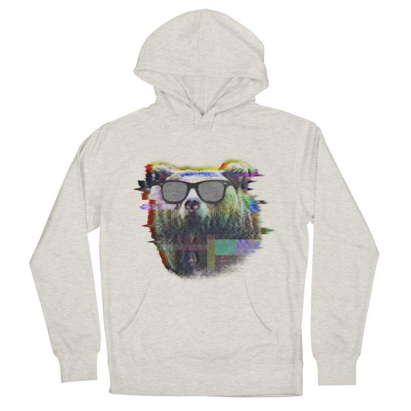 Bear Summer Glitch Men's Pullover Hoody by sknny
