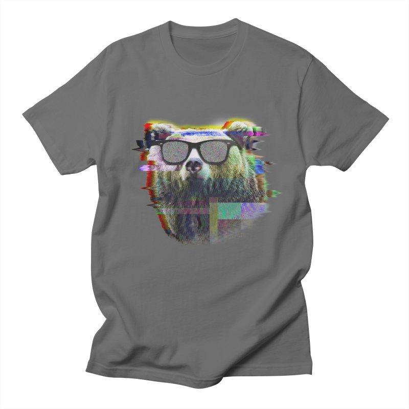 Bear Summer Glitch Women's Unisex T-Shirt by sknny
