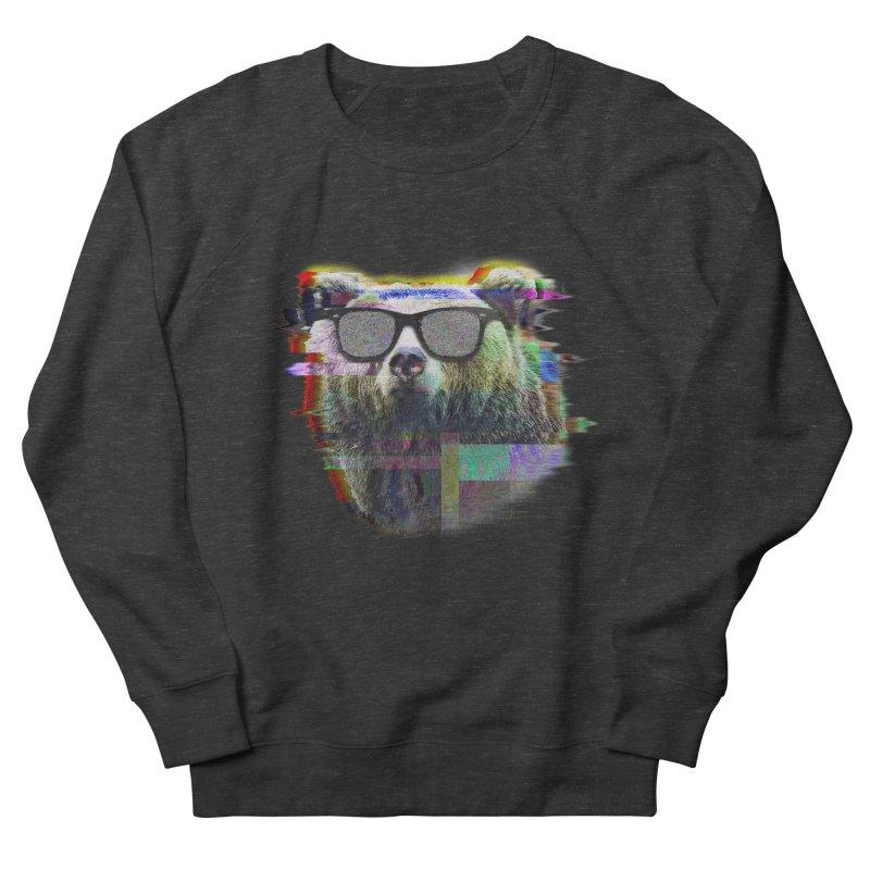 Bear Summer Glitch Women's Sweatshirt by sknny