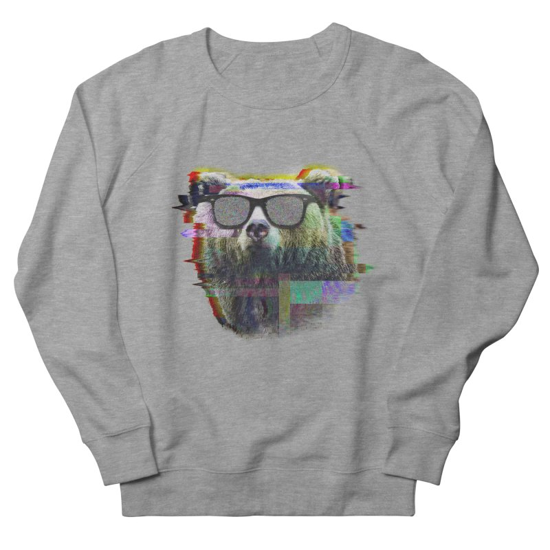 Bear Summer Glitch Men's Sweatshirt by sknny