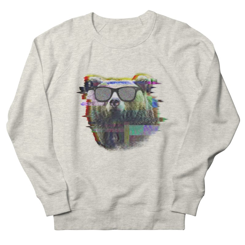 Bear Summer Glitch Men's Sweatshirt by sknny