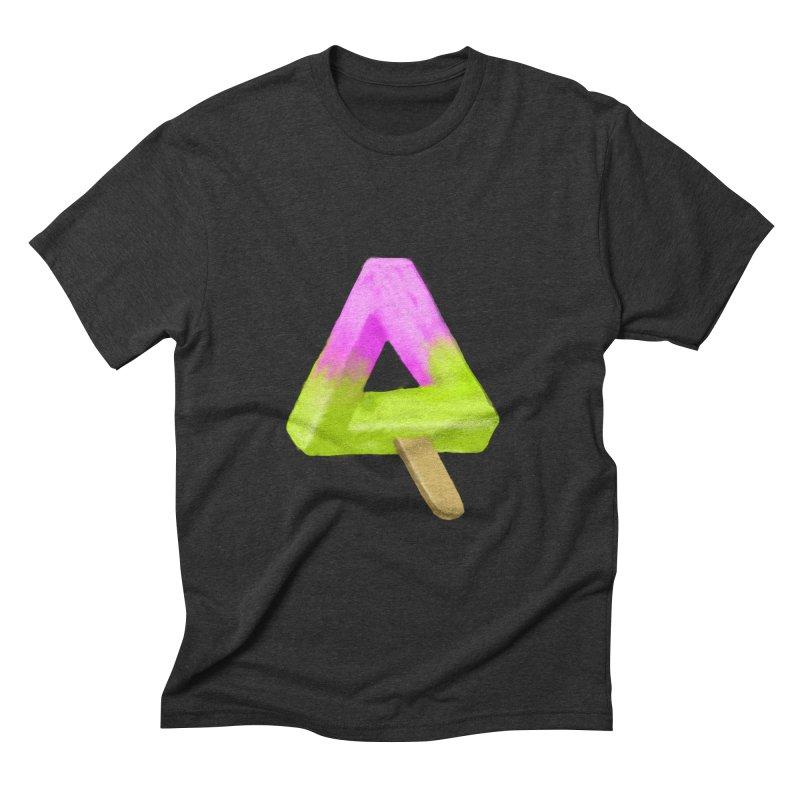 Penrose Popsicle Men's Triblend T-shirt by sknny
