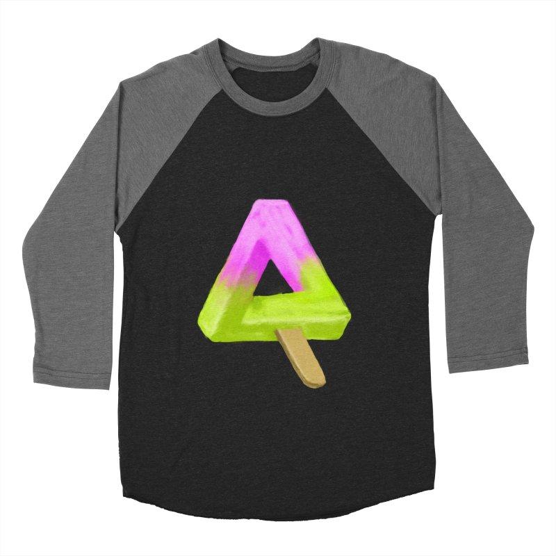 Penrose Popsicle Women's Baseball Triblend T-Shirt by sknny