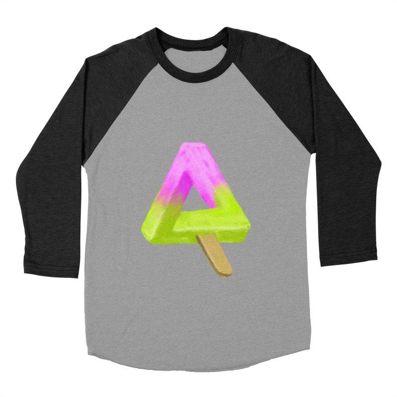 Penrose Popsicle Men's Baseball Triblend T-Shirt by sknny
