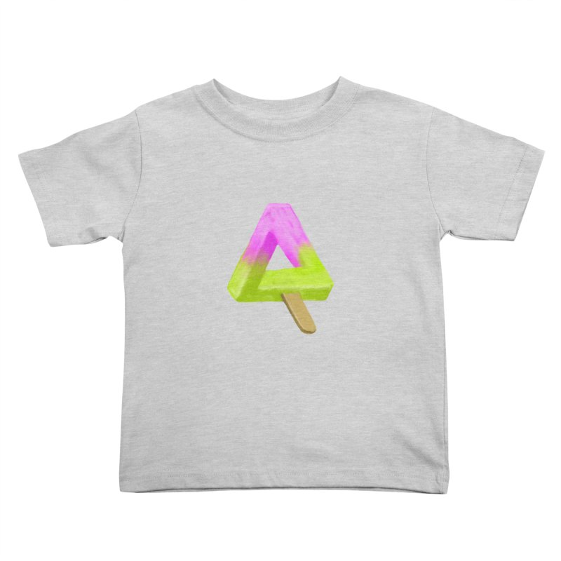 Penrose Popsicle Kids Toddler T-Shirt by sknny