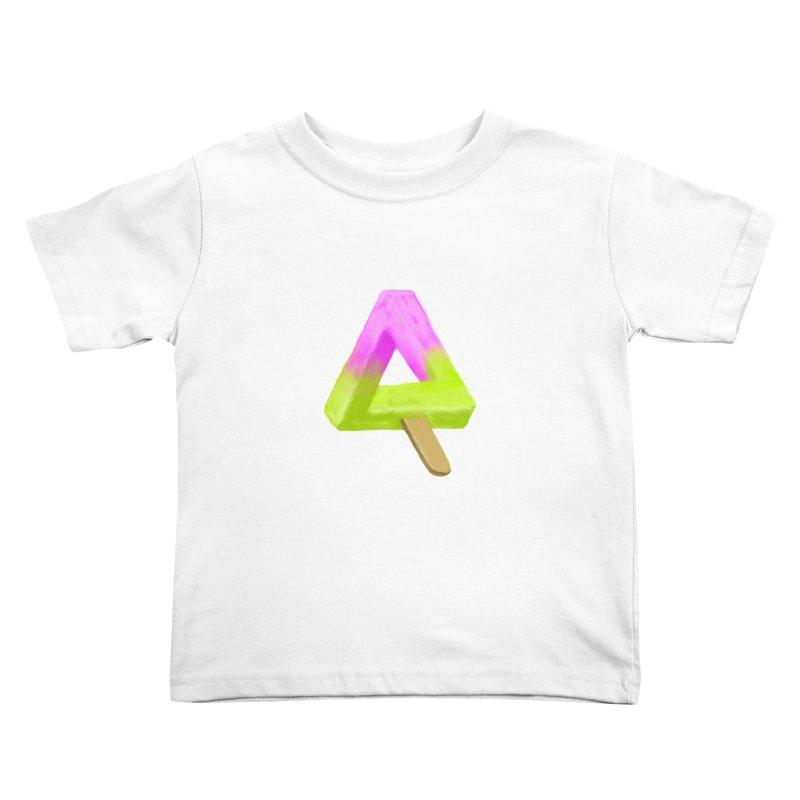Penrose Popsicle Kids Toddler T-Shirt by sknny