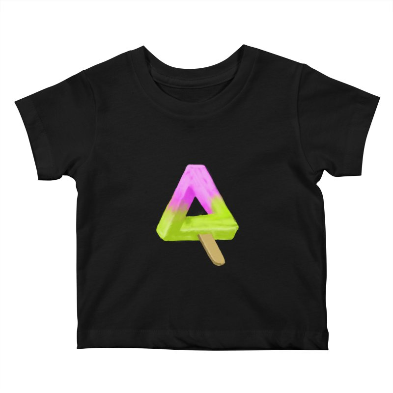 Penrose Popsicle Kids Baby T-Shirt by sknny