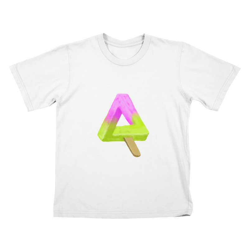 Penrose Popsicle Kids T-Shirt by sknny