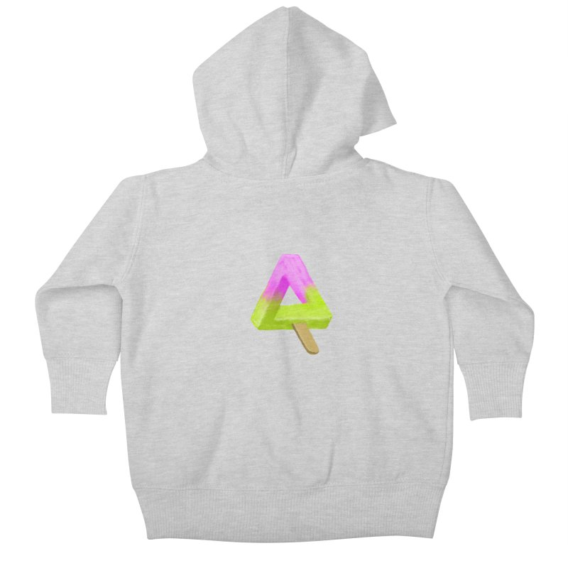 Penrose Popsicle Kids Baby Zip-Up Hoody by sknny