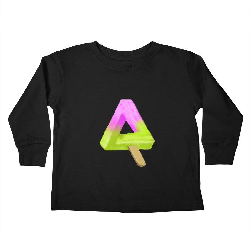 Penrose Popsicle Kids Toddler Longsleeve T-Shirt by sknny