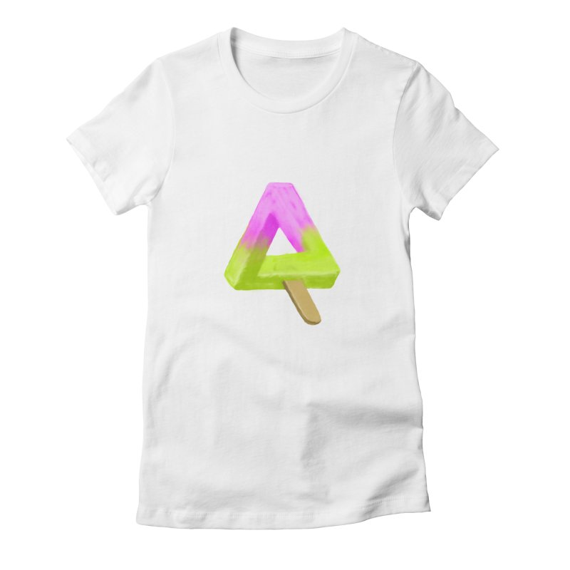 Penrose Popsicle Women's Fitted T-Shirt by sknny