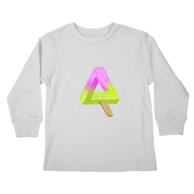 Penrose Popsicle Kids Longsleeve T-Shirt by sknny