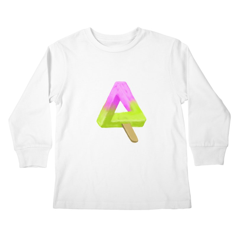 Penrose Popsicle Kids Longsleeve T-Shirt by sknny