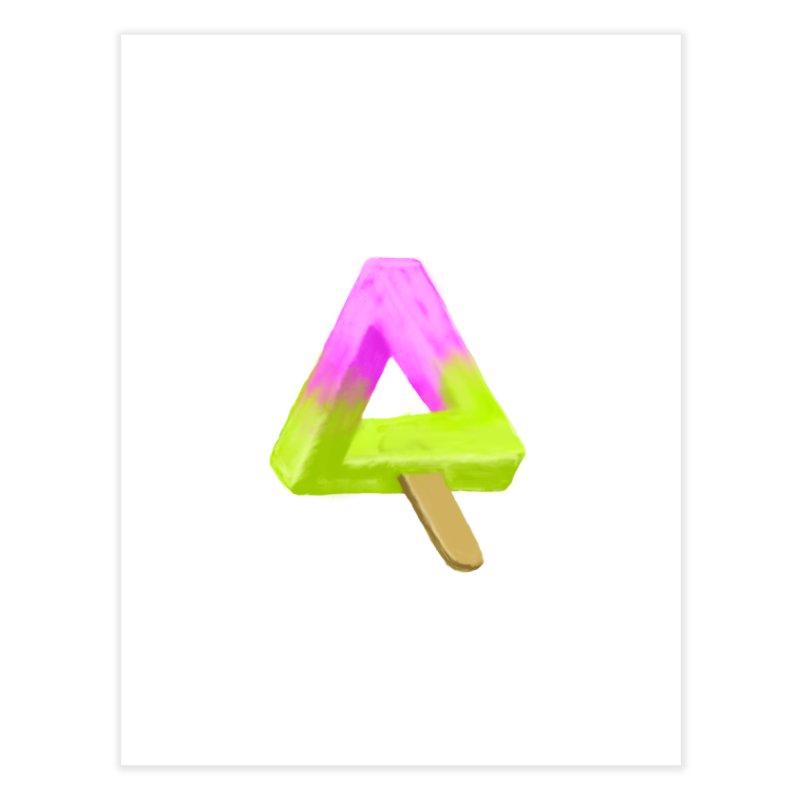 Penrose Popsicle Home Fine Art Print by sknny