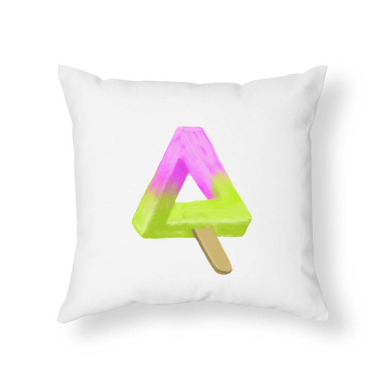 Penrose Popsicle Home Throw Pillow by sknny