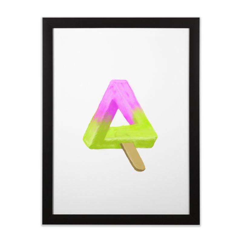 Penrose Popsicle Home Framed Fine Art Print by sknny