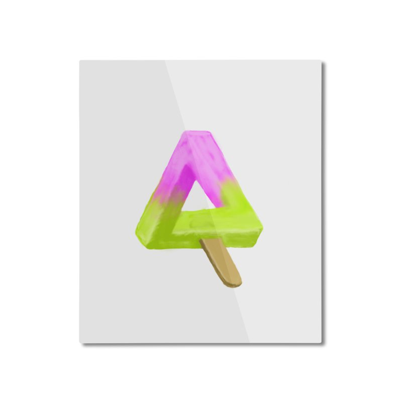 Penrose Popsicle Home Mounted Aluminum Print by sknny