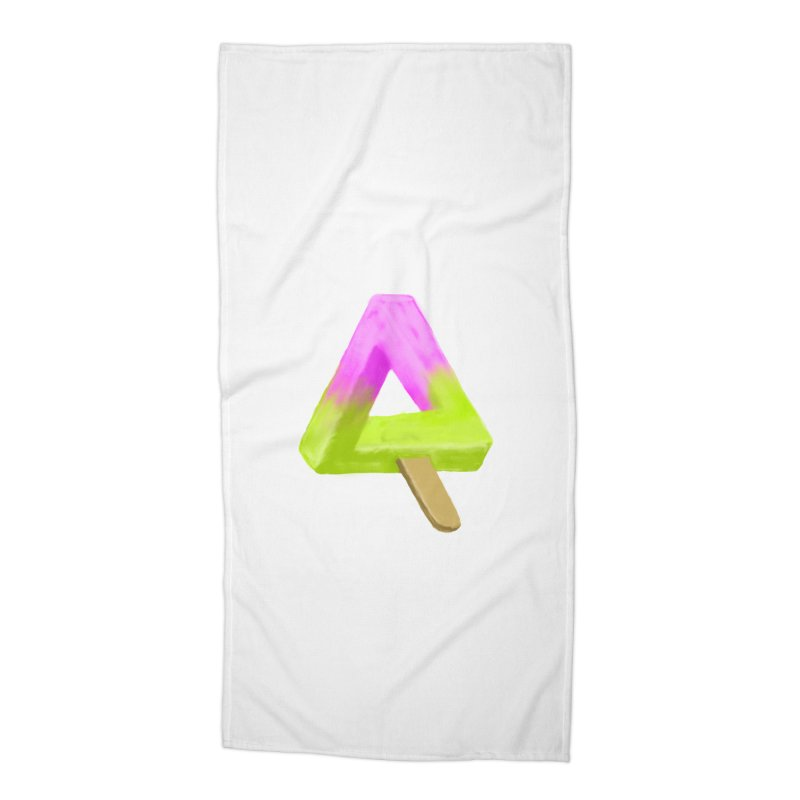 Penrose Popsicle Accessories Beach Towel by sknny