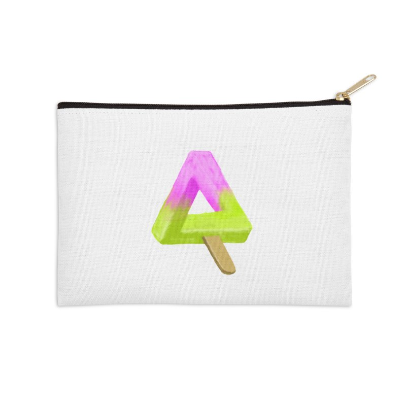 Penrose Popsicle Accessories Zip Pouch by sknny