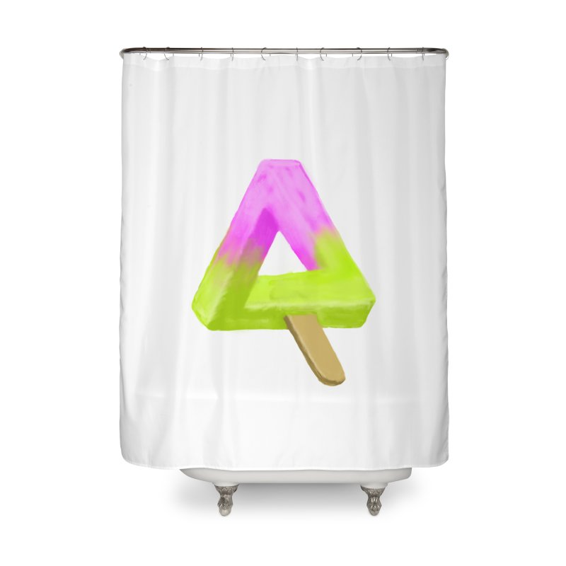 Penrose Popsicle Home Shower Curtain by sknny