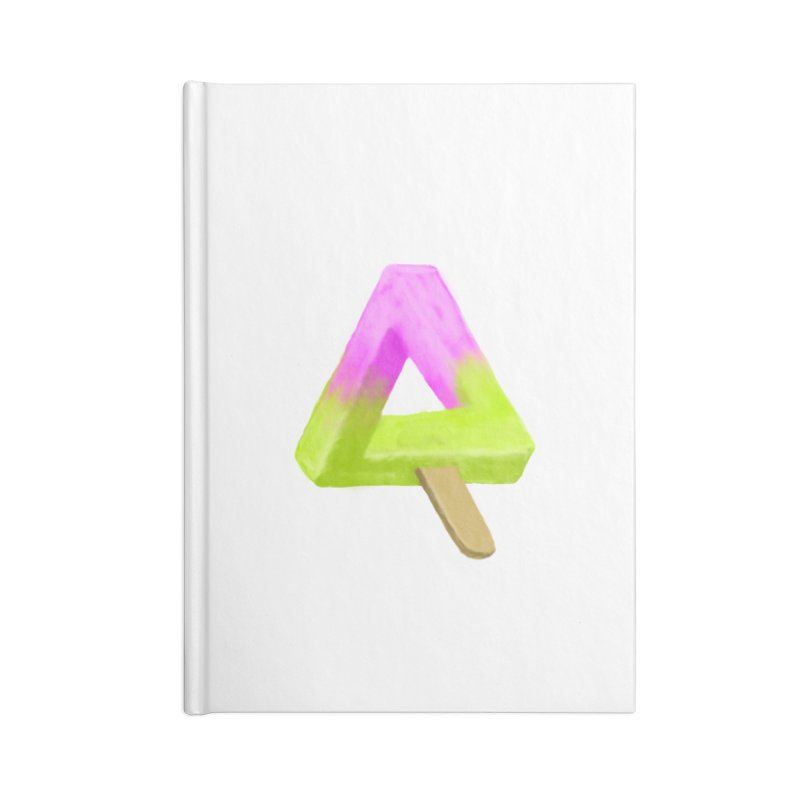 Penrose Popsicle Accessories Notebook by sknny