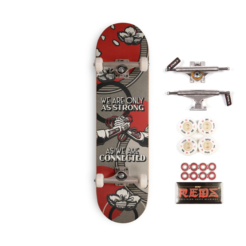 'Strong' Skate Deck Accessories Skateboard by Skullcandy