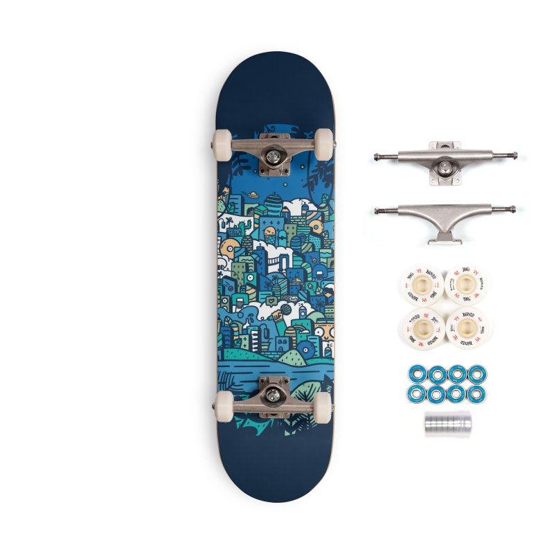 'Curious' Skate Deck Accessories Skateboard by Skullcandy