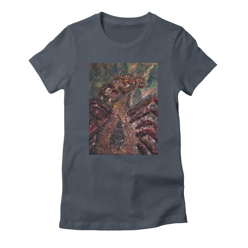 The Jersey Devil Women's T-Shirt by skullivan's Artist Shop