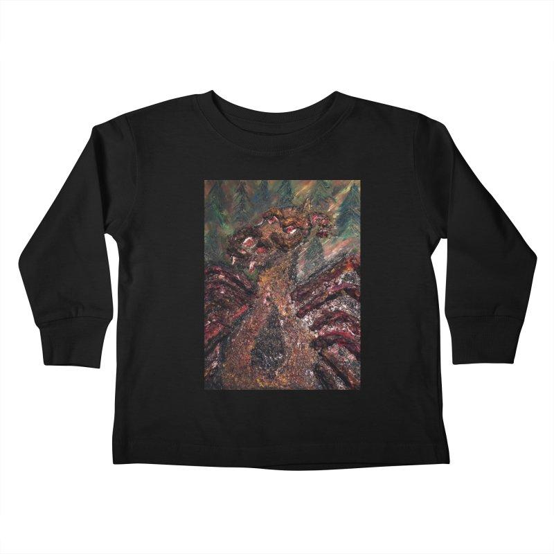 The Jersey Devil Kids Toddler Longsleeve T-Shirt by skullivan's Artist Shop