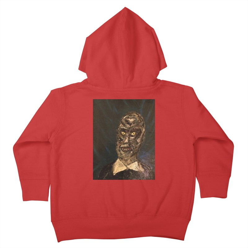 The Gentlemen Kids Toddler Zip-Up Hoody by skullivan's Artist Shop