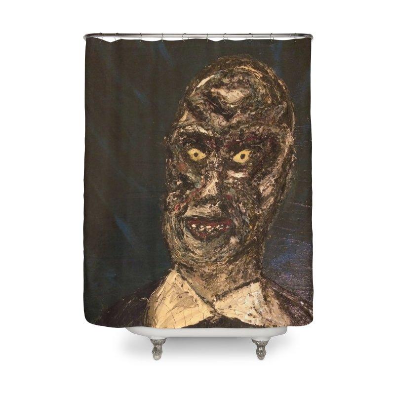 The Gentlemen Home Shower Curtain by skullivan's Artist Shop